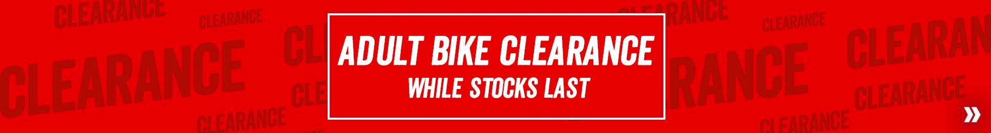 Clearance Adult Bikes