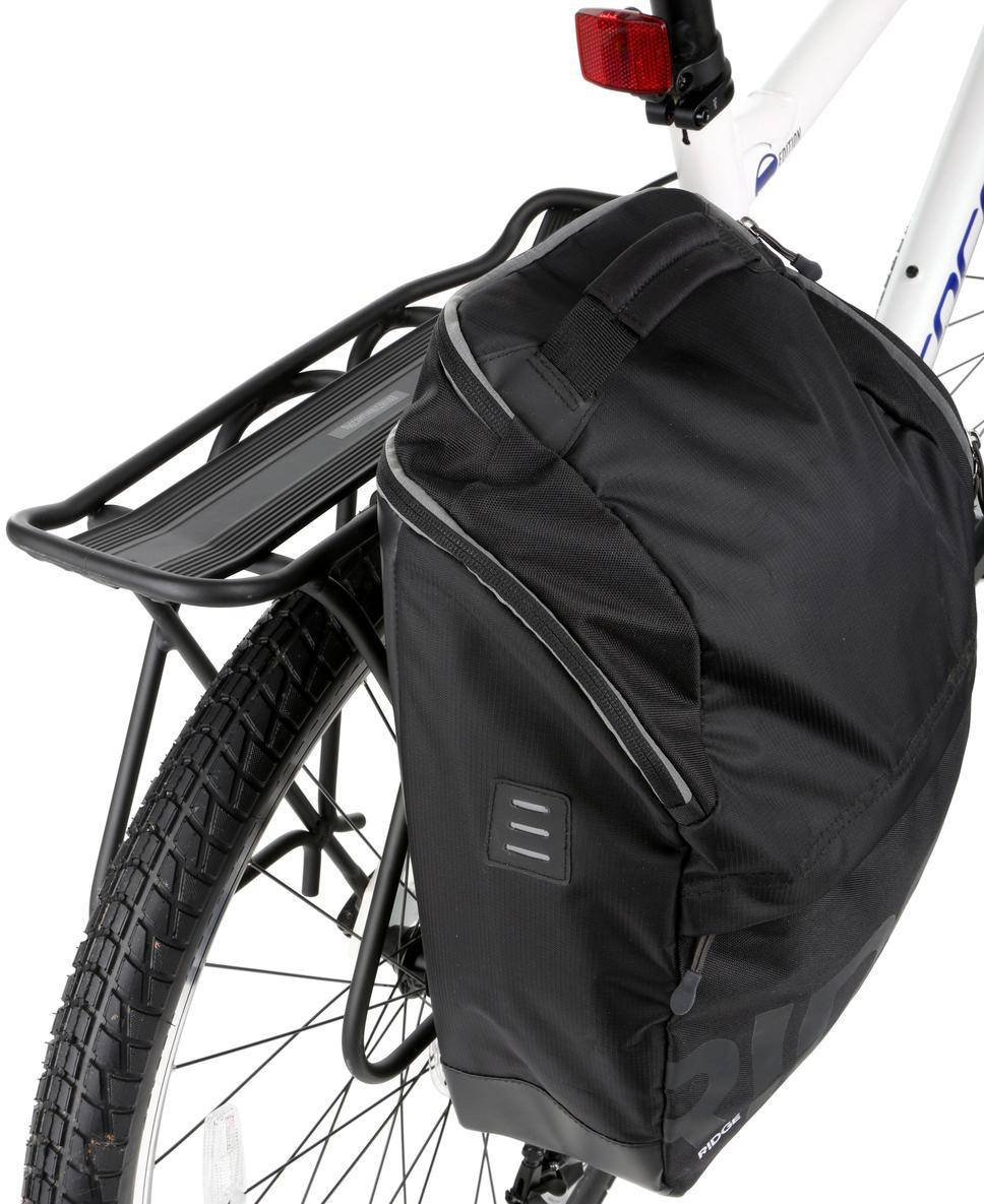 Pannier bags are the ideal bike bag for the general rider. They sit on  either side of a pannier rack b0aa76782919