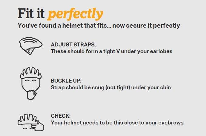 Halfords Advice Centre   Finding the Right Size Kids Helmet