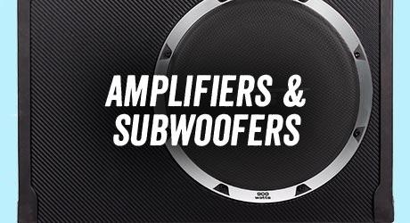 Amplifiers & subwoofers