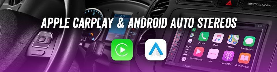 Apple CarPlay & Android Auto Stereos