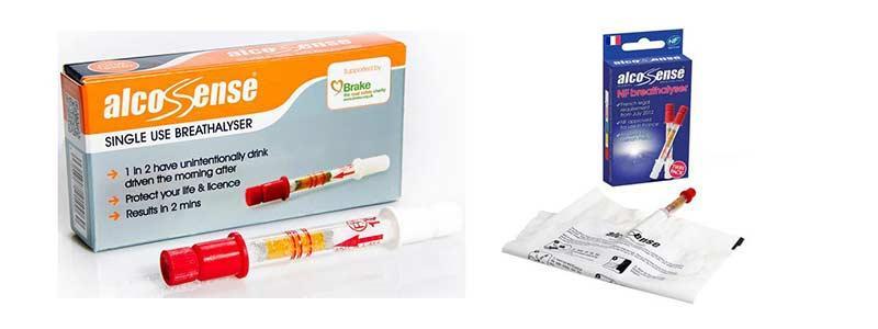 AlcoSense Single Use Breathalysers