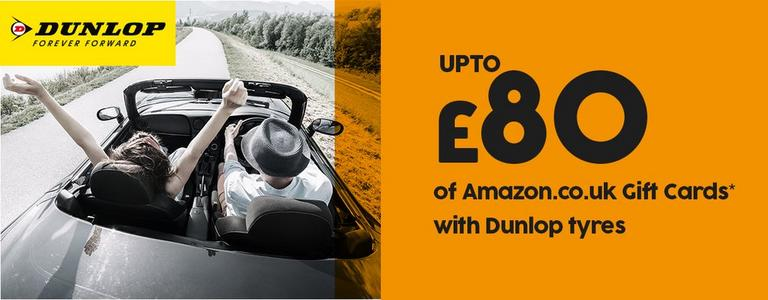 Image for Dunlop Amazon promotion article