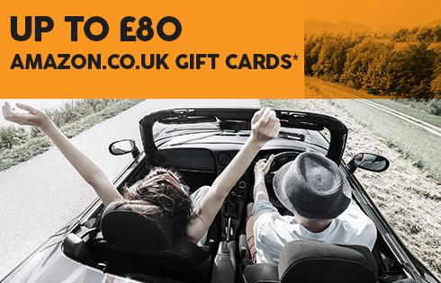 Up to £80 amazon gift cards