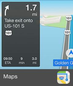 Apple CarPlay Maps