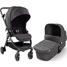 image of Baby Jogger City Tour Lux Granite Travel System Bundle