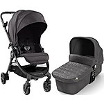 image of BabyJogger City Tour Lux Granite Travel System Bundle