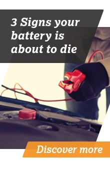 3 Signs your battery is about to die