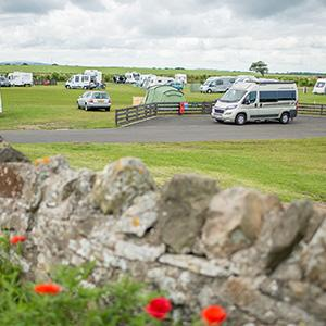 Beadnell Bay Camping and Caravanning Club Site