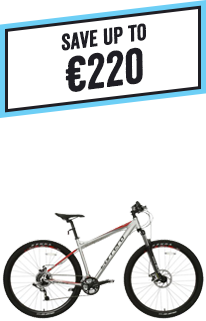 Save up to £180 on Carrera Adult Bikes