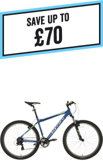 Save up to £70 on Carrera Adult Bikes