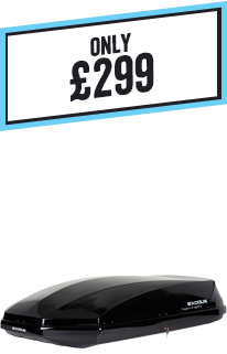 Exodus fully fitted Roof Box bundle