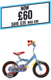 Paw Patrol Kids Bike