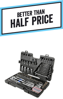 Better than half price 170pc & 90pc Socket Sets