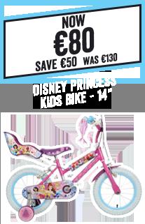 Disney Princess Kids Bike