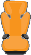 booster seat icon