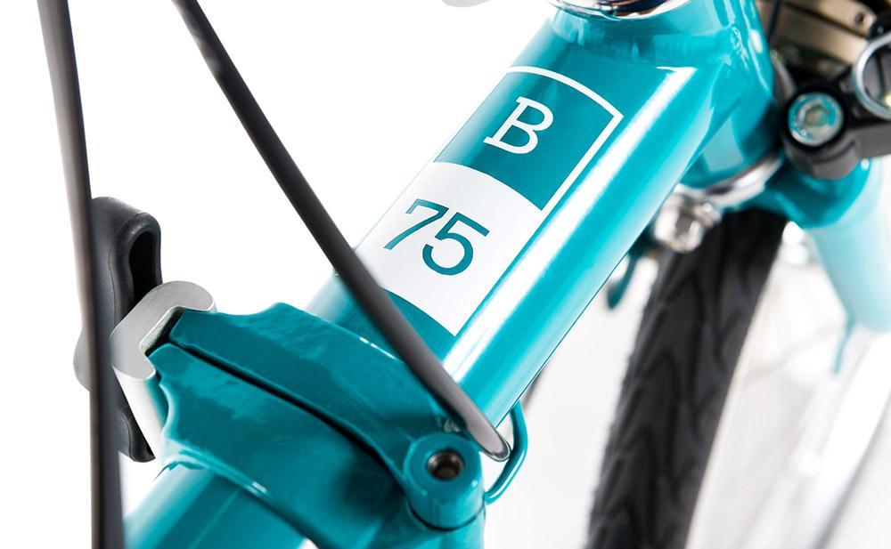 brompton fold bike