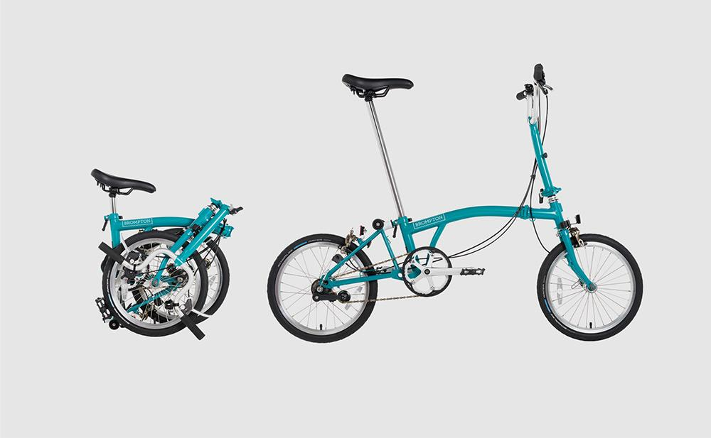 Brompton Foldable Bikes | Brompton | Halfords UK