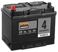 Halfords Calcium Battery HCB072