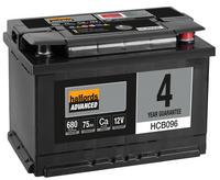 Halfords Calcium Battery HCB096