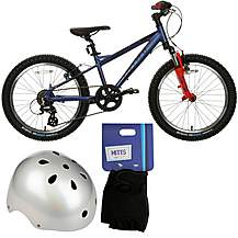 image of Carrera Blast Bike, Helmet and Mitts Bundle