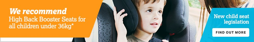 New child seat legislation