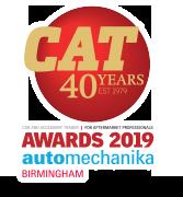 CAT 40 Years, Awards 2019 automechanika