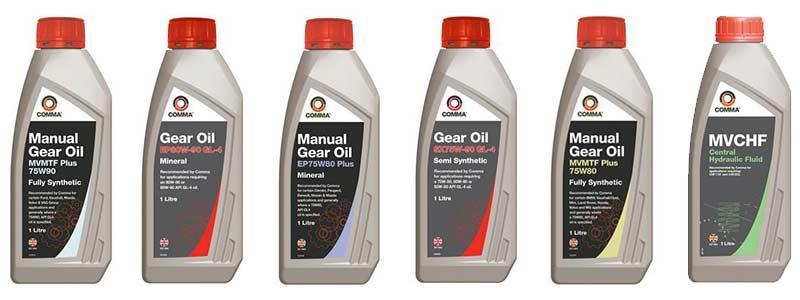 Comma Gear Oil