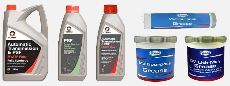 Comma Oil Maintenance Products