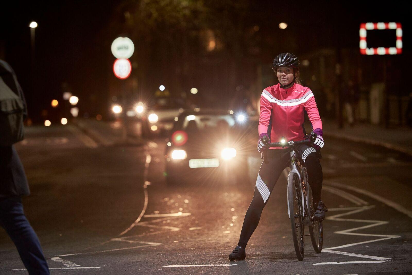 Good riding practice at night