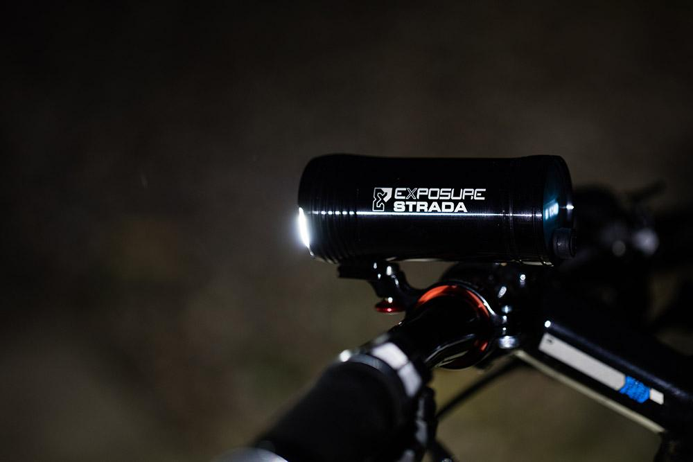 Front cycling light