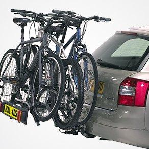 towbar mounted bike racks