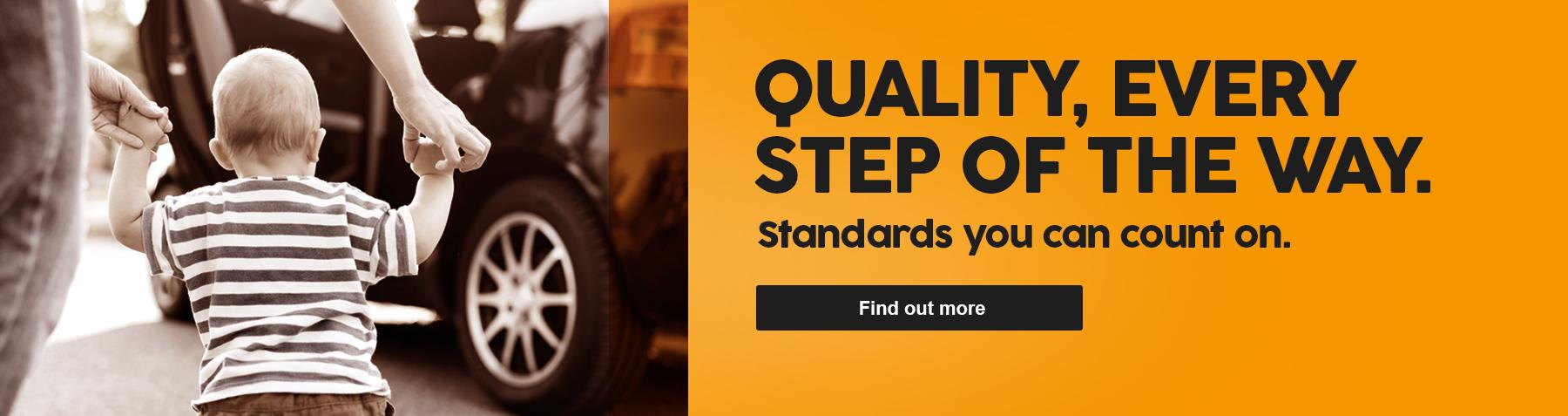 Quality every step of the way