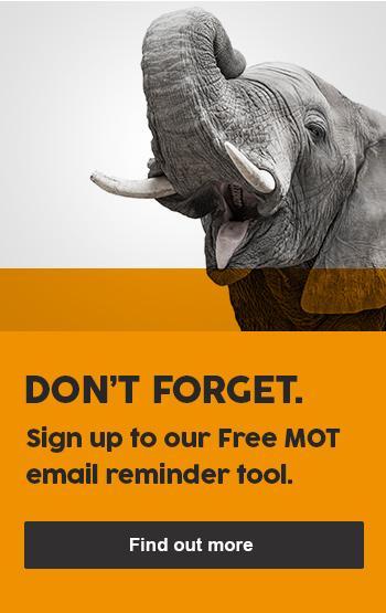 Free MOT email reminder tool