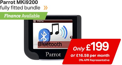 Parrot MKi9200 only £199, finance available