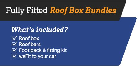 Fully fitted roofbox bundles
