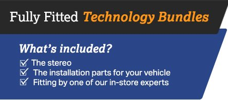Fully fitted technology bundles