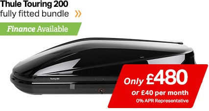 Thule Touring 200 only £480, finance available