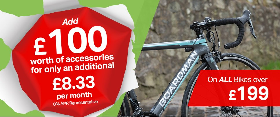 Add £100 worth of accessories for only £8.33 per month