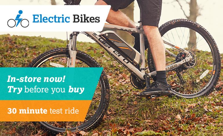 Image for E-Bikes: Try Before You Buy article