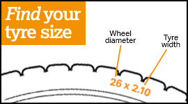 Find your tyre size