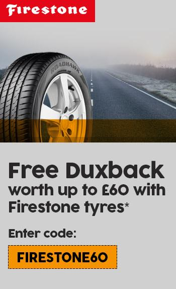 Free Duxback with Firestone tyres