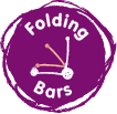 folding bars badge