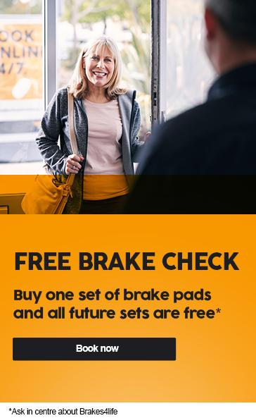 Free Brake Pads Check