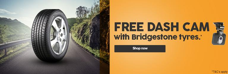 Image for Free Dash Cam with Bridgestone tyres article