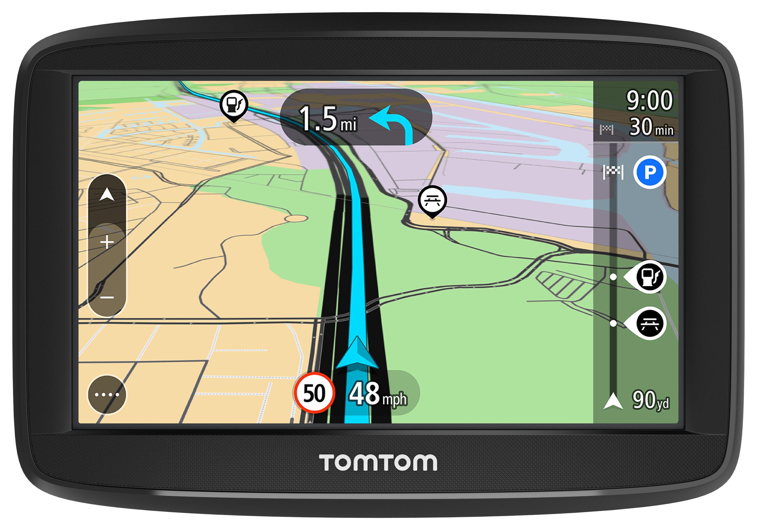 Tomtom Start 52 5 Inch Sat Nav Uk And Roi Lifetime Maps