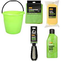 image of Halfords Car Cleaning Bucket Bundle
