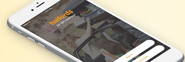 The Halfords App
