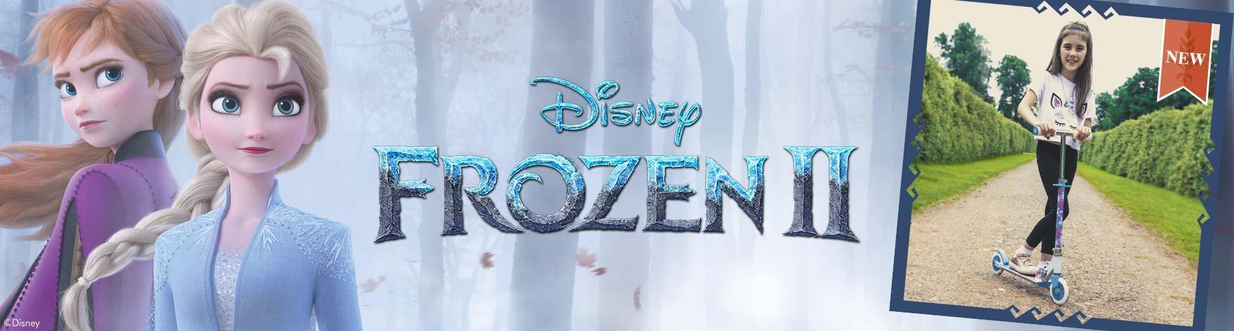 Disney's Frozen 2 Scooter range at Halfords