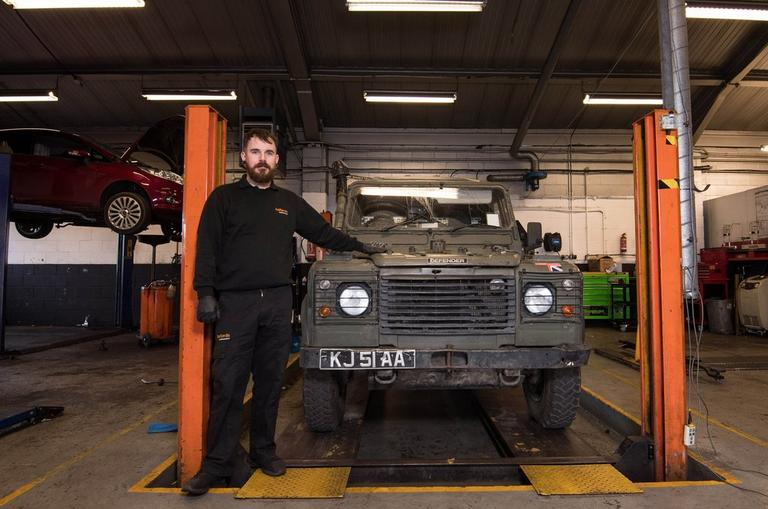 Image for Halfords Group signs Military Covenant article